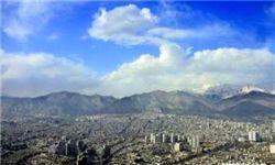 کیفیت هوای تهران قابل قبول است