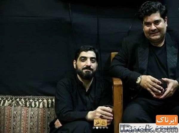 آقای موسیقی سنتی ایران در کنار مداح معروف+عکس