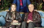 خواننده ممنوع التصویر معروف با پدر و مادر خوشتیپش+عکس