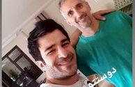 یوسف تیموری در منزل پسر خاله اش در کویت+عکس