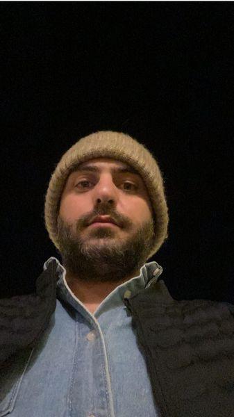 سلفی شبانه علی ضیا + عکس