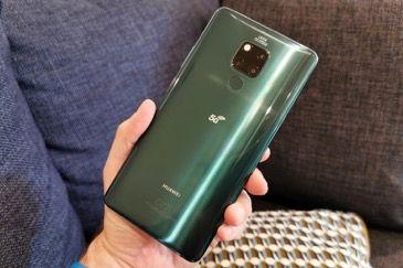 حضور رسمی هوآوی در بازار 5G انگلستان با گوشی Huawei Mate 20 X 5G
