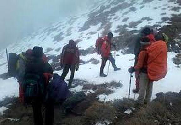 مفقودی 2 کوهنورد در ارتفاعات دماوند