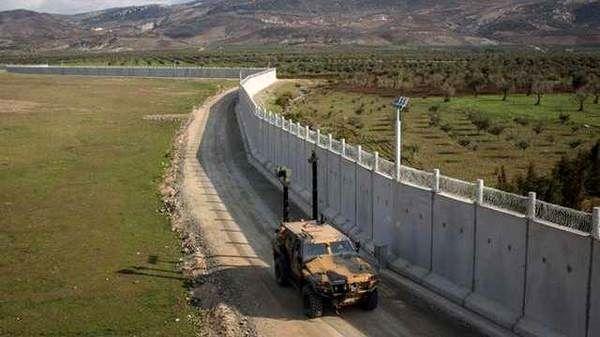 ترکیه سومین دیوار طولانی جهان را در مرزهای خود ساخت