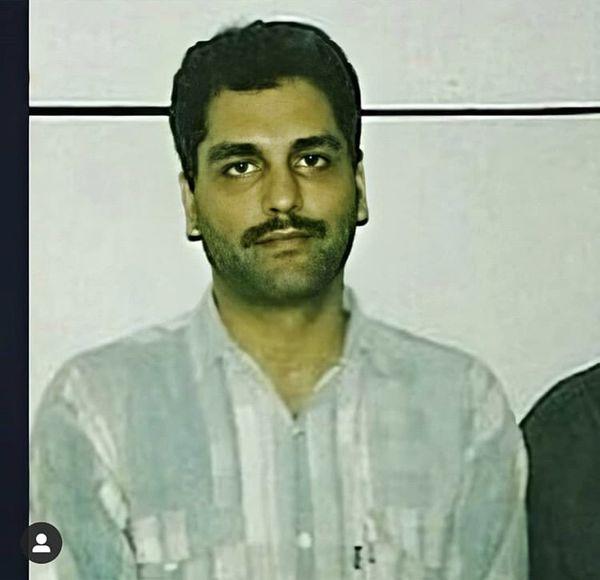 عکس کمتر دیده شده از جوانی مهران مدیری