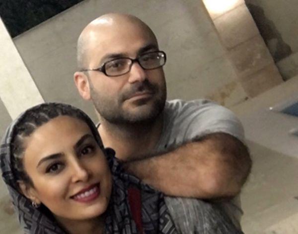 حدیثه تهرانی و همسرش در چند قدمی پاییز+عکس