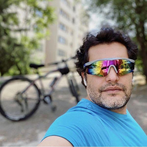 تیپدوچرخهسواری امیرمحمد زند + عکس