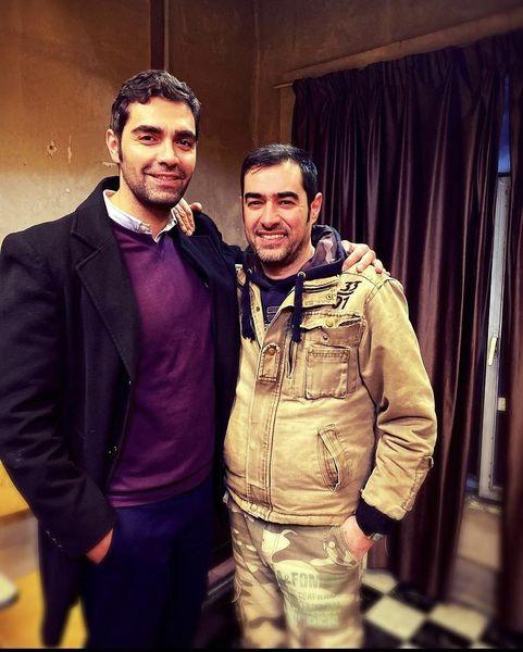 دوست قد بلند و رشید شهاب حسینی + عکس