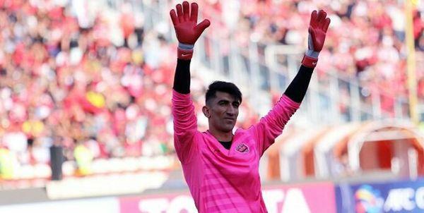 بیرانوند نامزد نهایی بهترین بازیکن سال آسیا شد