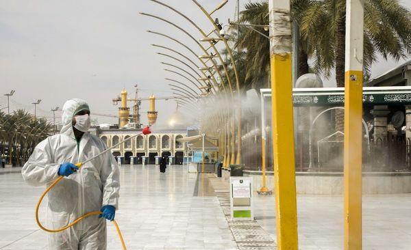 منع کامل تردد در ایام عید فطر برای مقابله با کرونا در عراق