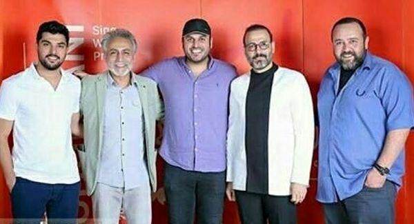 حامد سریال پدر در کنسرت علیرضا قربانی+عکس
