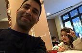 وحید هاشمیان و دختر نازنازیش+عکس