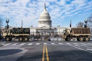 وحشت در آمریکا/ گارد ملی در واشنگن+تصاویر