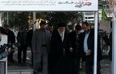 حضور امام خامنهای بر سر مزار شهدای «عملیات مهندسی»