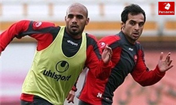 غیبت کریمی و تمرینات اختصاصی سه بازیکن