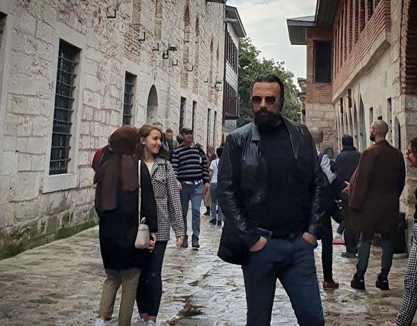 حسام منظور در ترکیه + عکس