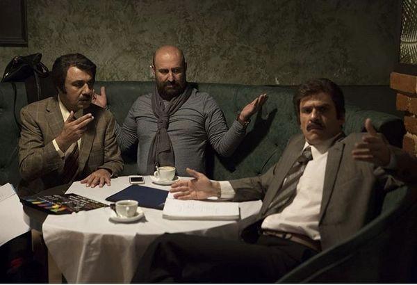 میز گرد بازیگران مصادره ای + عکس