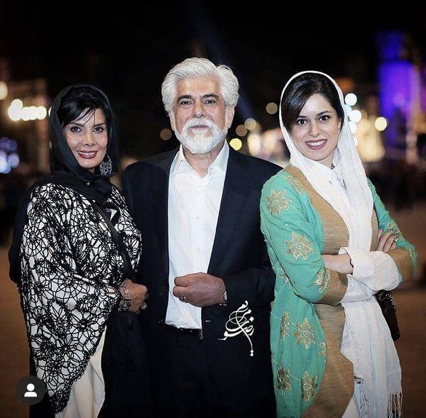 حسین پاکدل در کنار خانواده + عکس