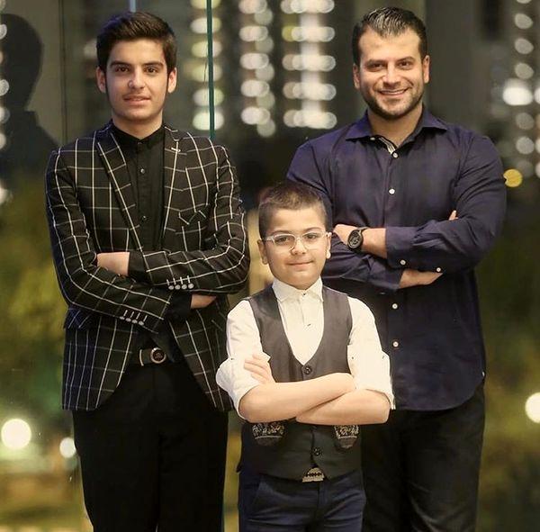 سه بازیگر بچه مهندس در یک قاب + عکس
