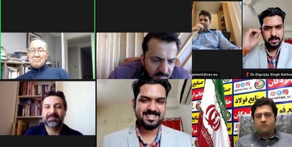 برگزاری جلسه آنلاین مدرسان پروژه مربیگری اوراسیا