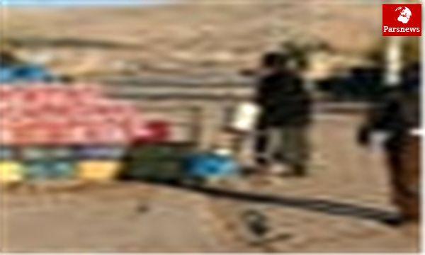 انهدام باند قاچاق سوخت در مرز سراوان