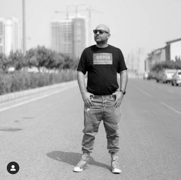 استایل جوونانه شوهر ریحانه پارسا در خیابان + عکس