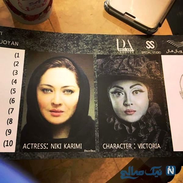 ظاهر اروپایی نیکی کریمی در عروس مردگان+عکس