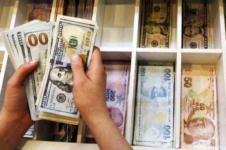 نرخ ارزهای خارجی در بازار ترکیه همچنان در حال کاهش است