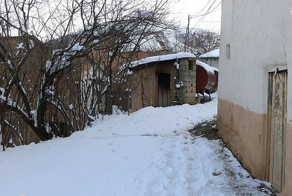 بارش برف در ارتفاعات گیلان+ عکس