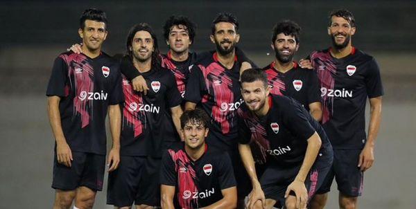 اعلام ترکیب تیم ملی عراق برای دیدار دوستانه با اردن