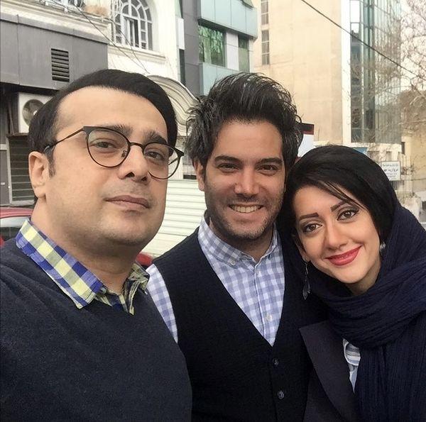 دلتنگی سپند امیرسلیمانی برای دوستانش + عکس