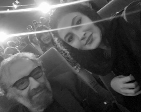 مریم مومن در کنار بزرگمرد سینما ایران+عکس