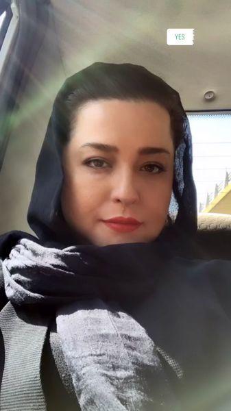 عکس یهویی مهراوه شریفی نیا