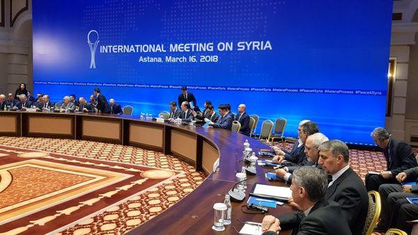 گفتگوهای بلندپایه آتی ایران، روسیه و ترکیه درباره سوریه در آستانه برگزار خواهد شد