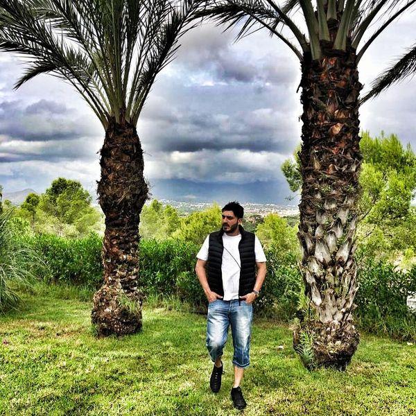 گردش نیما شاهرخ شاهی در طبیعت بکر اسپانیا+عکس
