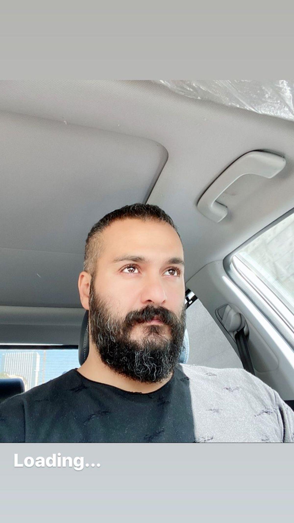 رانندگی میلاد کیمرام با ماشینش + عکس