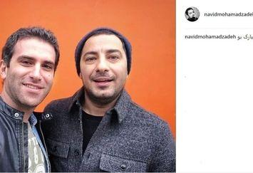 پیام تبریک نوید محمدزاده به هوتن شکیبا