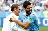 واکنش سوارز به صحبت های گریزمان پس از برتری مقابل اروگوئه