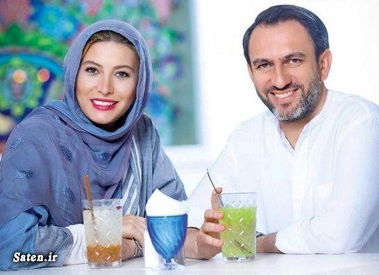 فریبا نادری و همسرش + عکس