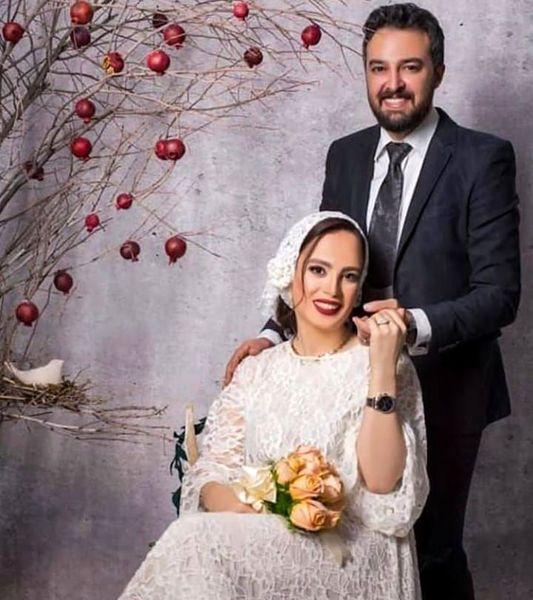 عکس مراسم ازدواج آقای مجری و بازیگر خوشچهره