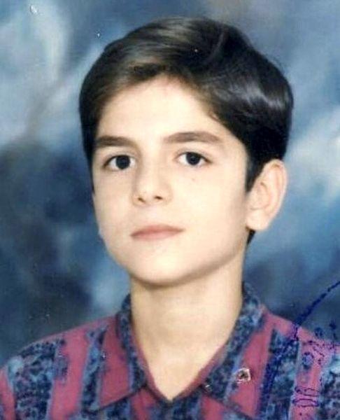 عباس غزالی در نوجوانی + عکس