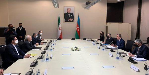 توییت وزیر امور خارجه در مورد پایان مذاکراتش در باکو