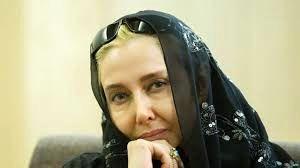 چهره غمزده «کتایون ریاحی» در مراسم یادبود کمالالملک سینما