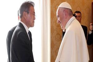 دعوت رسمی از پاپ فرانسیس برای سفر به کره شمالی