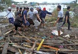 شمار کشتهشدگان سونامی اندونزی