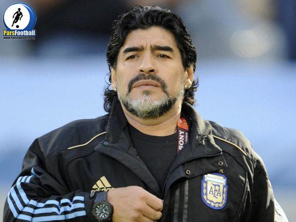 وداع مردم آرژانتین با اسطوره فوتبال کشورشان