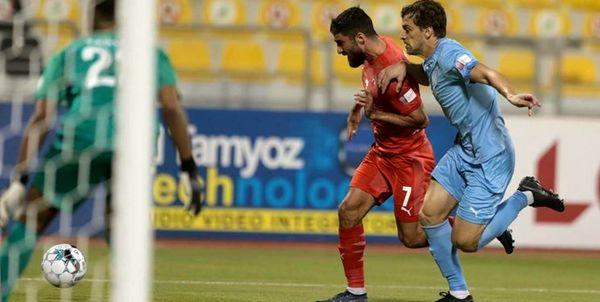 برد العربی مقابل الخریطیات در لیگ ستارگان قطر