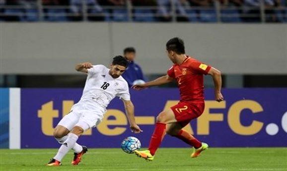 تساوی بدون گل ایران و چین تا پایان نیمه اول