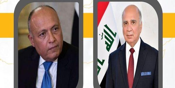 بررسی اوضاع سوریه در گفت گوی تلفنی وزیران خارجه عراق و مصر