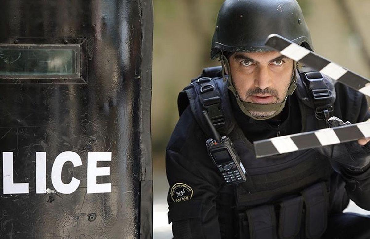 کوروش سلیمانی پلیس میشود + عکس